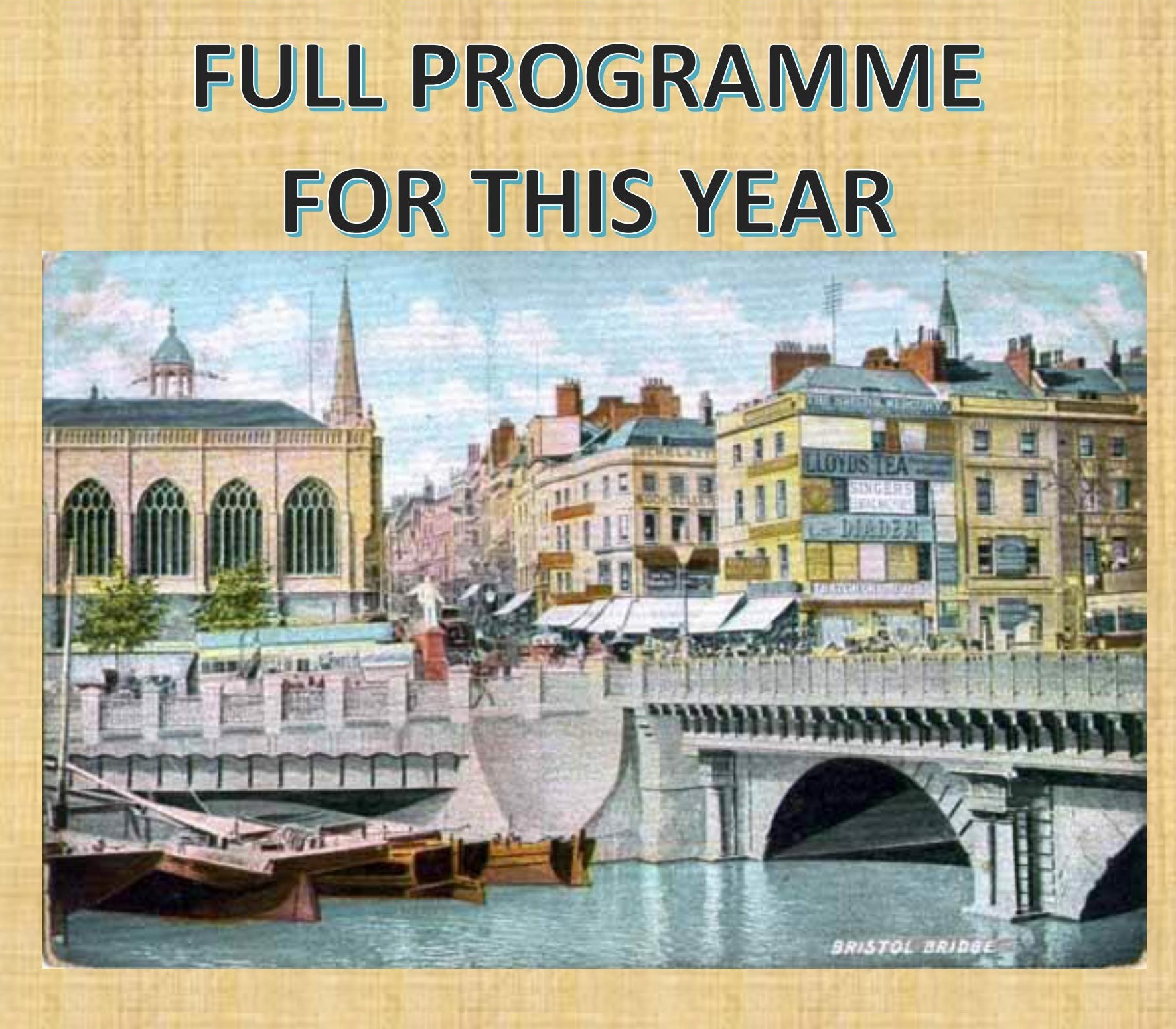 Website FULL PROGRAMME FOR THIS YEAR title